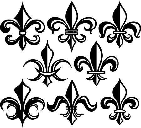 Fleur De Lis, New Orleans Stock Vector - 8340166