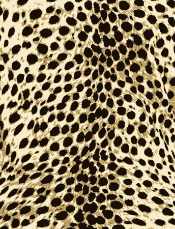 dark skin: african animal fur pattern design