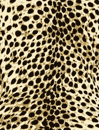 tessile: design pattern di pellicce di animali africani