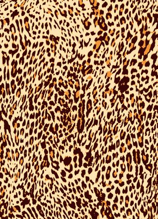 animal print: struttura della pelle di leopardo animale stampare sfondo  Vettoriali