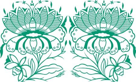 mehndi: flower design