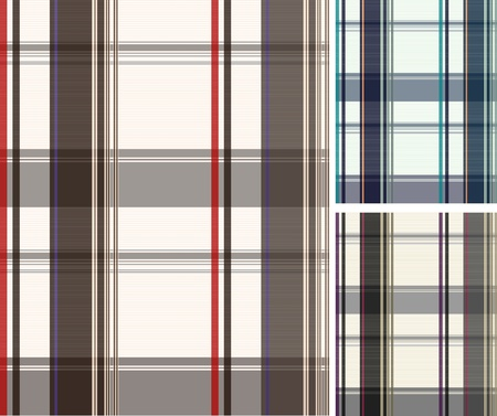 fashion fabric plaid check textile background Stock Vector - 9121191