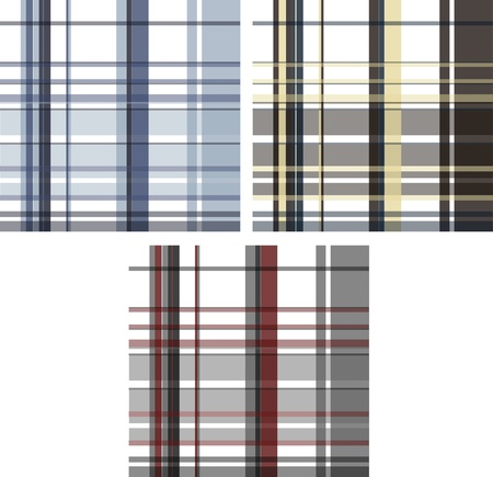 fashion fabric plaid check textile background Stock Vector - 9165379