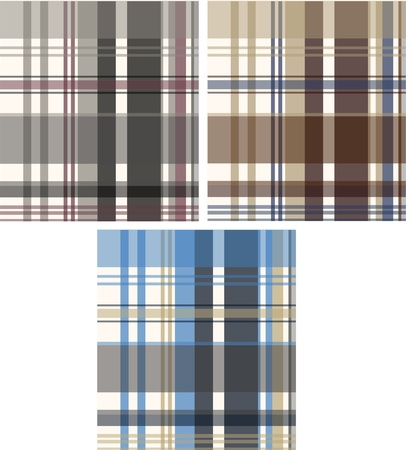 fashion fabric plaid check textile background Stock Vector - 9165376