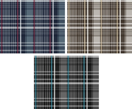 fashion fabric plaid check textile background Stock Vector - 9165378