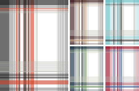 fashion fabric plaid check textile background Stock Vector - 9165381