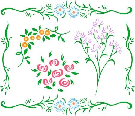 decorative flower design Vector