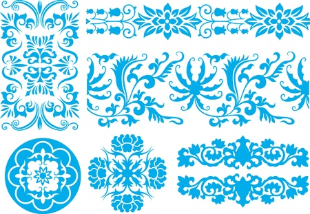 classic floral pattern Vector