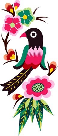 bird tree: chinese oriental bird tree