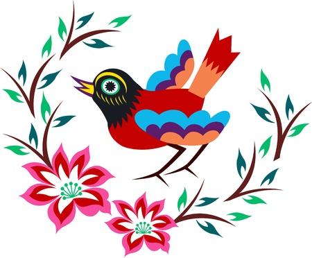 tragos: �rbol de aves oriental China