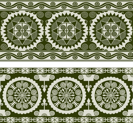 artistic vintage seamless background Vector