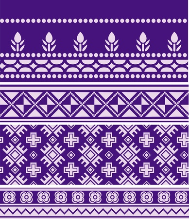 floral seamless abstract fabric design Vector