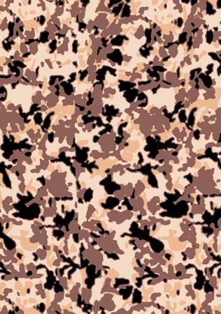 patrón de camuflaje abstracto Ilustración de vector