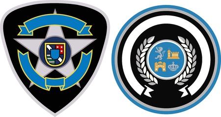 griffin: emblem patch design