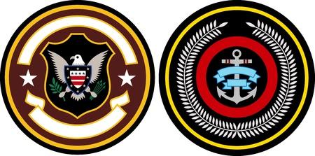 medallion: emblem patch design