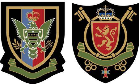 koninklijke kroon: koninklijke kroon embleem badge