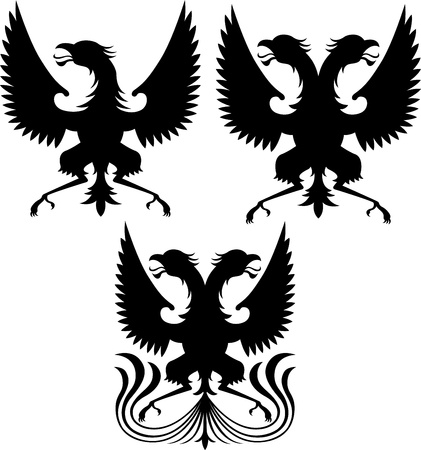 griffin collection Vector