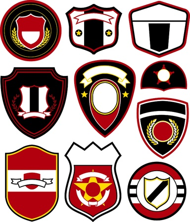 emblem badge symbol design Vector