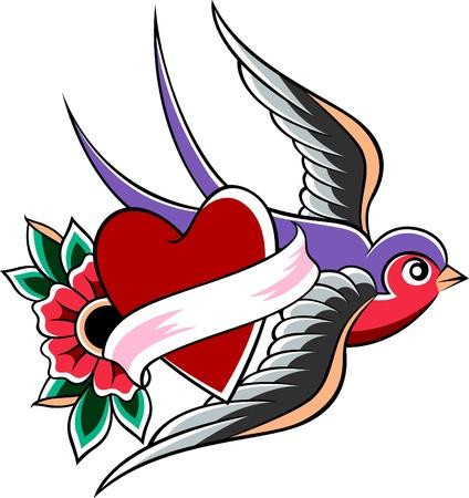 geloof hoop liefde: slikken embleem ontwerp