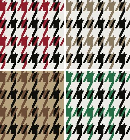 nahtlose Hahnentritt-Muster