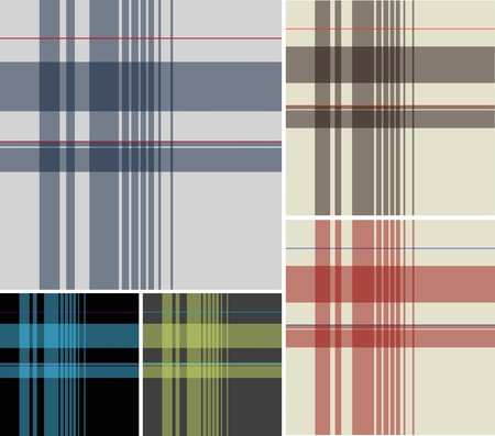 scottish: check fabric textile pattern Illustration