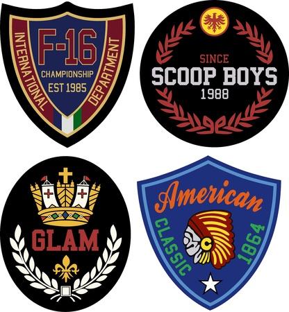 toppa: stile distintivo di design simbolo