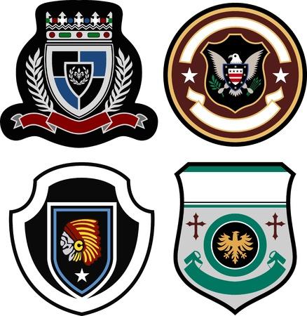 crests: distintivo scenografia