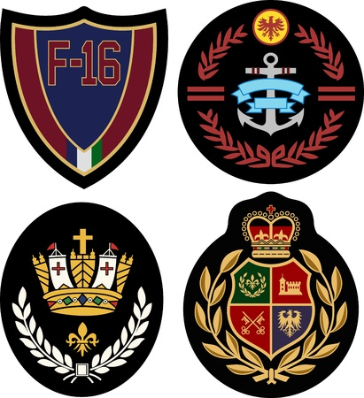 badge design set Illustration