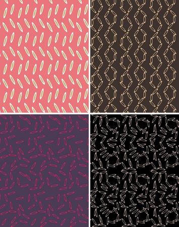 ellipse: abstract ellipse dot pattern Illustration