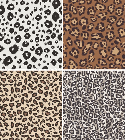 fashion seamless animal skin texture Vector