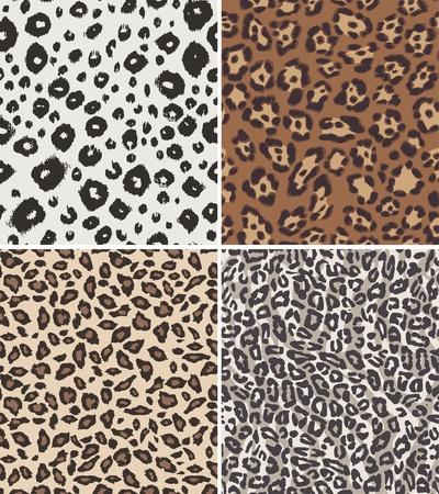 jaguar: forma perfecta textura de la piel de animales