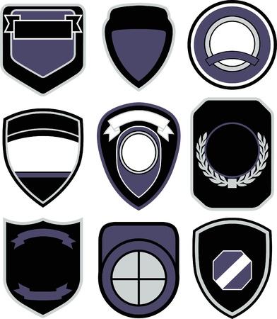 safty: emblem badge shield design