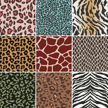 tessile: senza soluzione di continuit� animale swatch skin