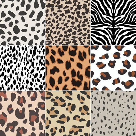 animal print: senza soluzione di continuit� animale swatch skin