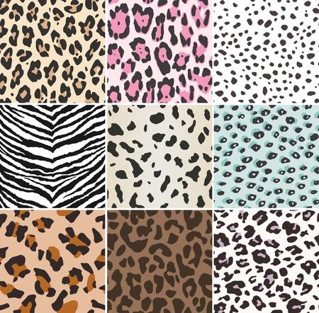 cheetah: seamless animal skin swatch