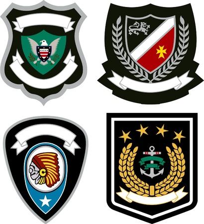 emblem badge design Stock Vector - 14099469