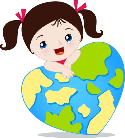 love the earth Stock Vector - 14099460