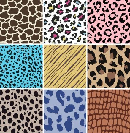 female animal: seamless animal skin pattern