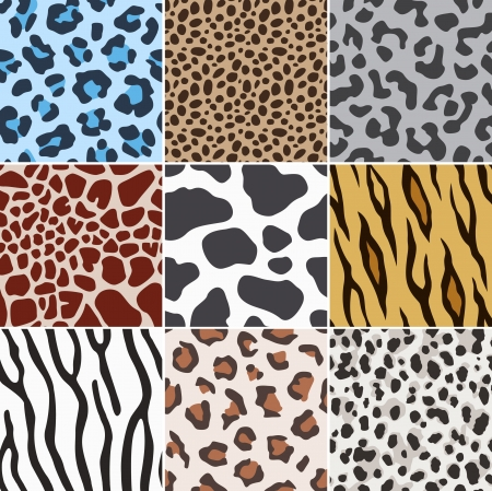 wrapping animal: seamless animal skin fabric pattern texture