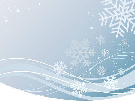 seasonal light display: snowflake background
