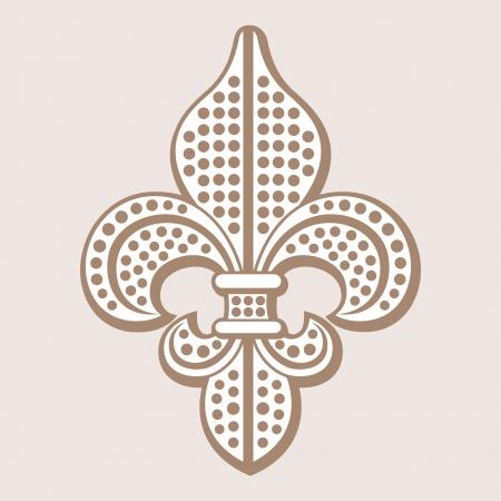 orleans: fleur de lys symbol