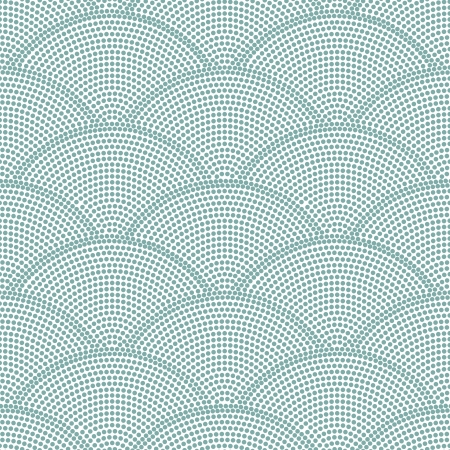 pattern: naadloze oceaan golfpatroon Stock Illustratie