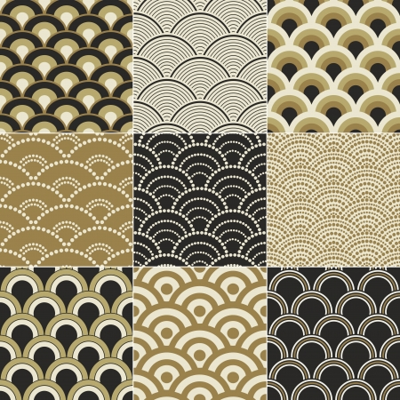 seamless ocean wave pattern Stock Vector - 17176508