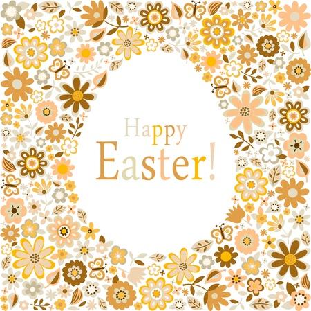 golden egg for happy easter celebration Stock Vector - 17588119