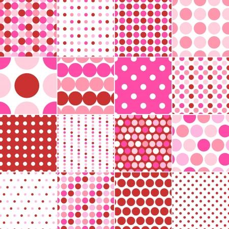 polka dot fabric: pois senza soluzione di stampa