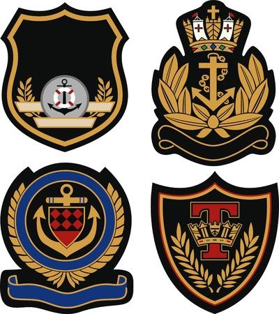 toppa: reale emblema distintivo scudo