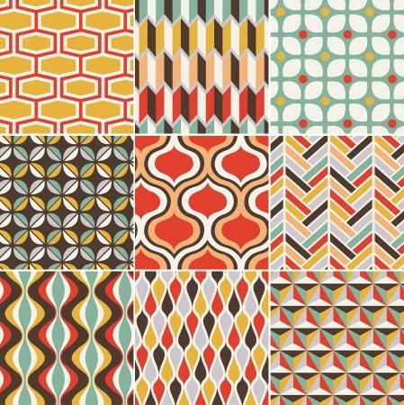geometrical: seamless retro pattern