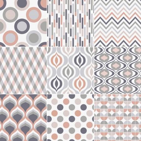 retro pattern: seamless retro pattern