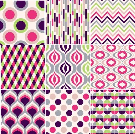 repeatable texture: print retro sin fisuras patr?n