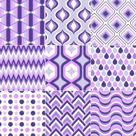 seamless retro pattern print Stock Vector - 20273284
